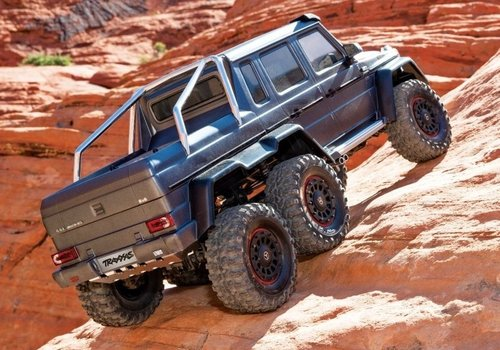 RC-TRAXXAS Mercedes-Benz G63 AMG 6x6 RTR 1/10 6WD Scale-Crawler Brushed